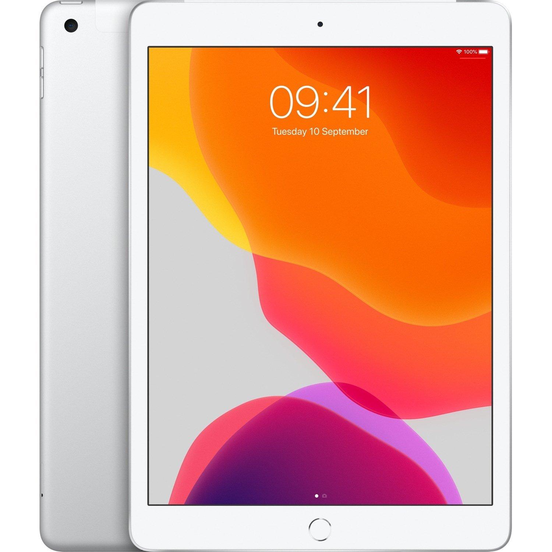 "Apple iPad (7th Generation) Tablet - 25.9 cm (10.2"") - 128 GB Storage - iPad OS - 4G - Silver"