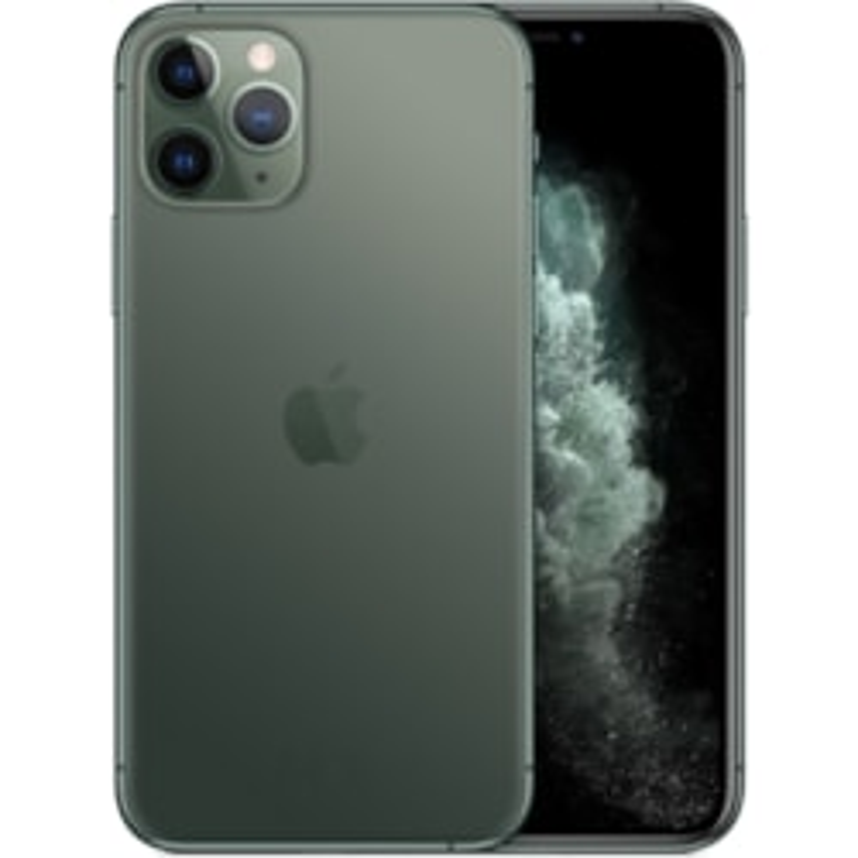 "Apple iPhone 11 Pro A2215 64 GB Smartphone - 14.7 cm (5.8"") OLED Full HD Plus 2436 x 1125 - 4 GB RAM - iOS 13 - 4G - Midnight Green"