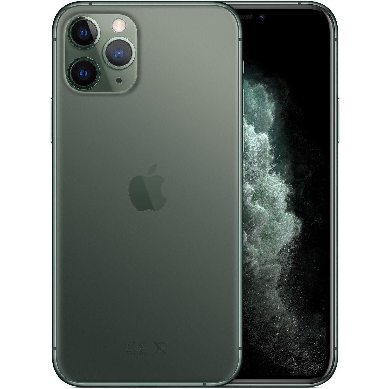 "Apple iPhone 11 Pro A2215 256 GB Smartphone - 14.7 cm (5.8"") OLED Full HD Plus 2436 x 1125 - 4 GB RAM - iOS 13 - 4G - Midnight Green"