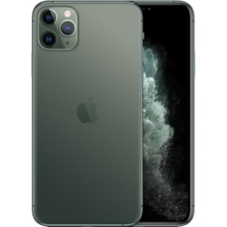 """Apple iPhone 11 Pro Max A2218 256 GB Smartphone - 16.5 cm (6.5"""") OLED Full HD Plus 2688 x 1242 - 4 GB RAM - iOS 13 - 4G - Midnight Green"""