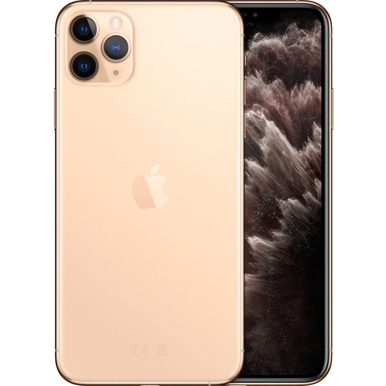 "Apple iPhone 11 Pro Max A2218 512 GB Smartphone - 16.5 cm (6.5"") OLED Full HD Plus 2688 x 1242 - 4 GB RAM - iOS 13 - 4G - Gold"