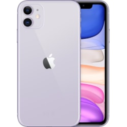 "Apple iPhone 11 A2221 128 GB Smartphone - 15.5 cm (6.1"") LCD HD 1792 x 828 - 4 GB RAM - iOS 13 - 4G - Purple"