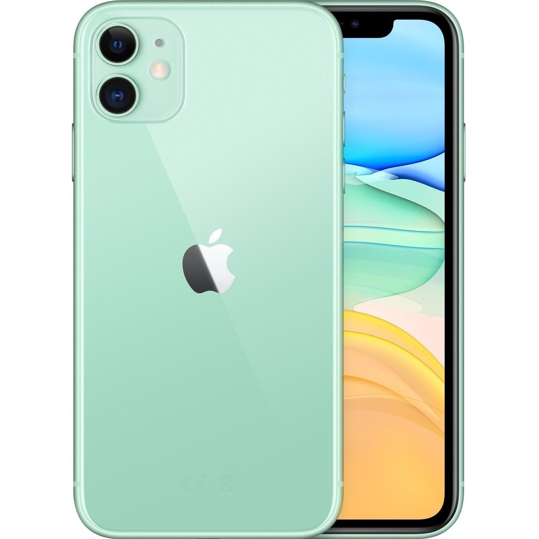 """Apple iPhone 11 A2221 128 GB Smartphone - 15.5 cm (6.1"""") HD - 4 GB RAM - iOS 13 - 4G - Green"""