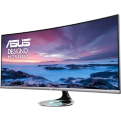 "Asus Designo MX38VC 95.3 cm (37.5"") UW-QHD+ Curved Screen WLED Gaming LCD Monitor - 21:9 - Black, Space Gray"