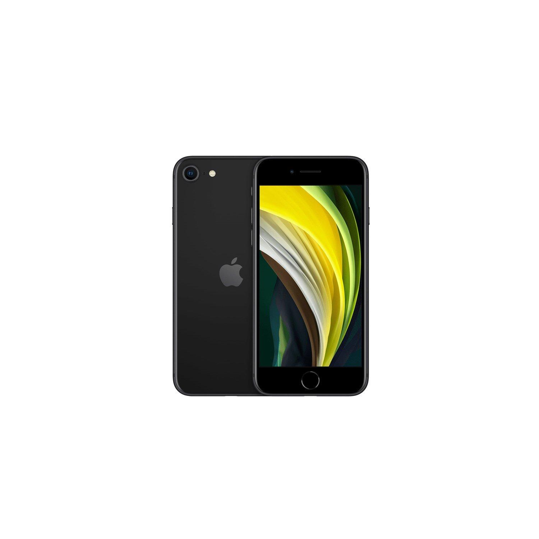 "Apple iPhone SE A2296 64 GB Smartphone - 11.9 cm (4.7"") LCD HD 750 x 1334 - 3 GB RAM - iOS 13 - 4G - Black"