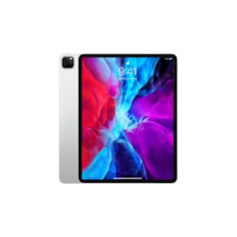 "Apple iPad Pro (4th Generation) Tablet - 32.8 cm (12.9"") - 256 GB Storage - iPad OS - 4G - Silver"