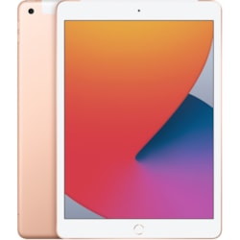 "Apple iPad (8th Generation) Tablet - 25.9 cm (10.2"") - 3 GB RAM - 32 GB Storage - iPadOS 14 - 4G - Gold"