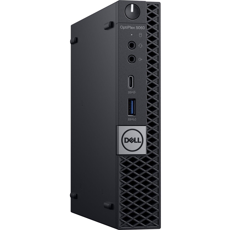 Dell OptiPlex 5000 5060 Desktop Computer - Intel Core i5 (8th Gen) i5-8400T - 8 GB DDR4 SDRAM - 256 GB SSD - Windows 10 Pro 64-bit - Micro PC