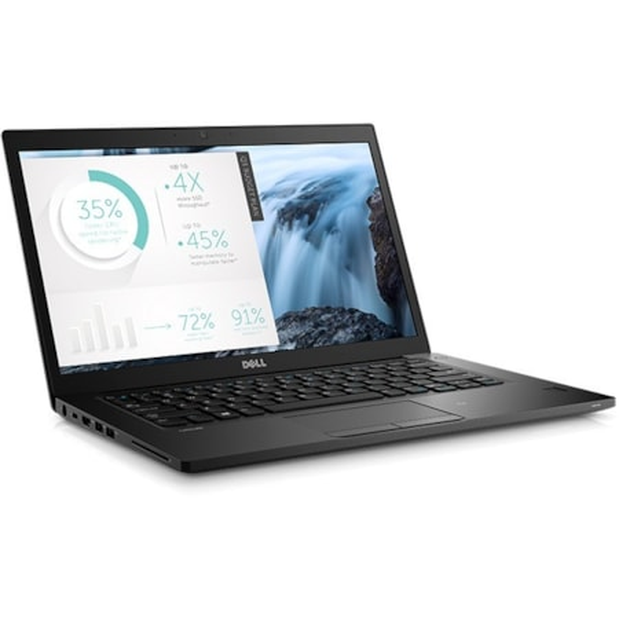 "Dell Latitude 7000 7480 35.6 cm (14"") LCD Notebook - Intel Core i5 (7th Gen) i5-7200U Dual-core (2 Core) 2.50 GHz - 4 GB DDR4 SDRAM - 128 GB SSD - Windows 10 Pro 64-bit (English) - 1920 x 1080"