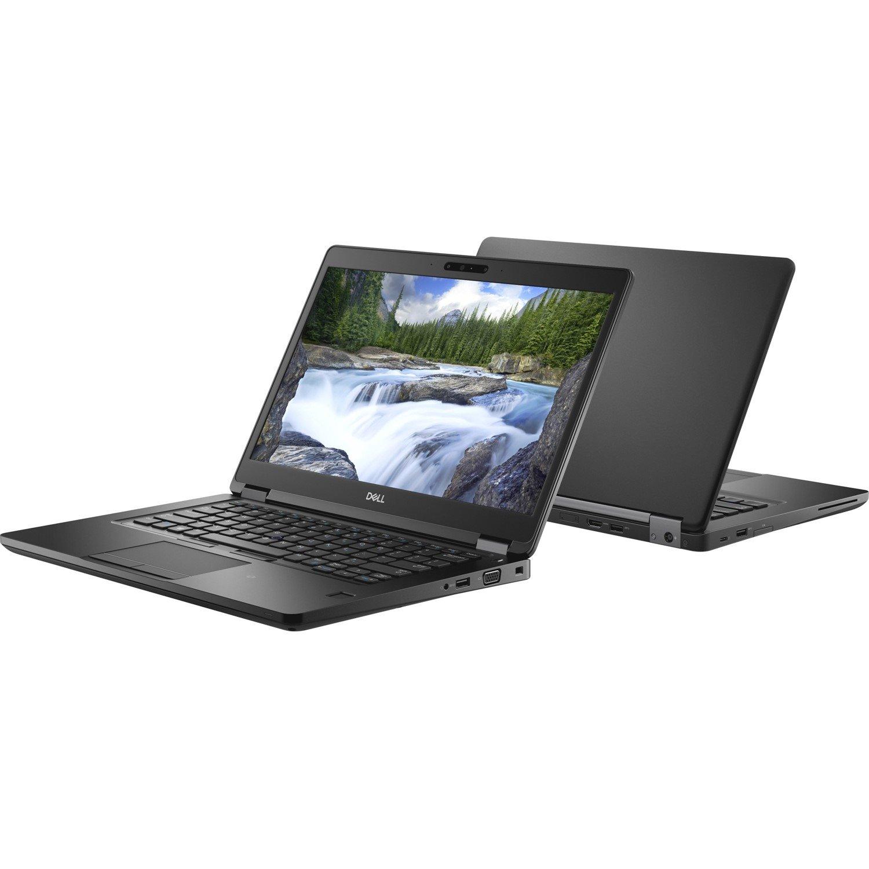 "Dell Latitude 5000 5490 35.6 cm (14"") LCD Notebook - Intel Core i5 (8th Gen) i5-8250U Quad-core (4 Core) 1.60 GHz - 8 GB DDR4 SDRAM - 256 GB SSD - Windows 10 Pro 64-bit (English) - 1366 x 768"