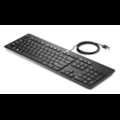 HP Slim Keyboard - Cable Connectivity - USB Interface