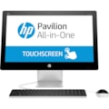 "HP Pavilion 23-q100 23-q106a All-in-One Computer - AMD A-Series A6-7310 2 GHz - 8 GB - 1 TB HDD - 58.4 cm (23"") 1920 x 1080 Touchscreen Display - Windows 10 Home 64-bit - Desktop - Blizzard White - Refurbished"