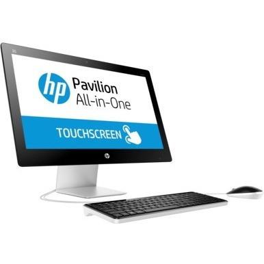 "HP Pavilion 23-q100 23-q106a All-in-One Computer - AMD A-Series A6-7310 2 GHz - 8 GB - 1 TB HDD - 58.4 cm (23"") 1920 x 1080 Touchscreen Display - Windows 10 Home 64-bit - Desktop - Blizzard White - Refurbished"