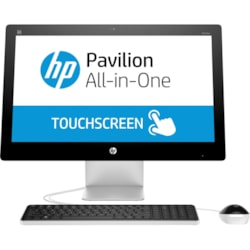 HP Pavilion 23-q100 23-q110a All-in-One Computer - AMD A-Series A10-8700P 1.80 GHz - 16 GB DDR3L SDRAM - 3 TB HDD Touchscreen Display - Desktop - Refurbished