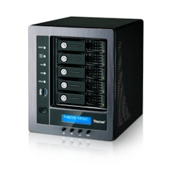 Thecus N5810 5 x Total Bays SAN/NAS Storage System - Intel Celeron Quad-core (4 Core) 2 GHz - 4 GB RAM - DDR3 SDRAM Tower