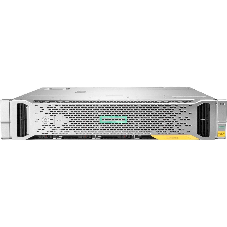 HPE StoreVirtual 3200 25 x Total Bays SAN Storage System - Rack-mountable