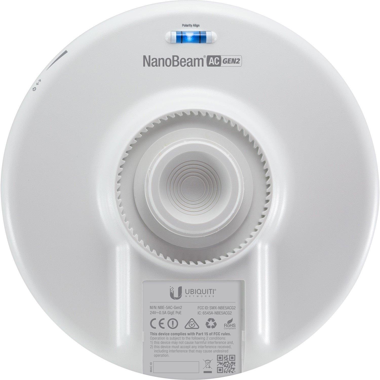 Ubiquiti NanoBeam AC Gen2 NBE-5AC-Gen2 IEEE 802.11ac 450 Mbit/s Wireless Bridge