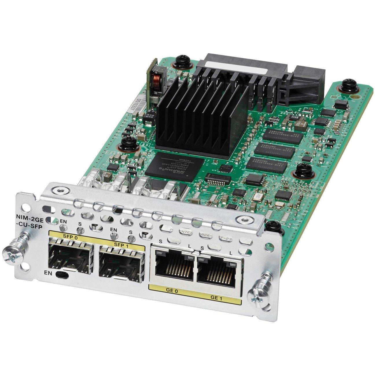 Cisco WAN Module - 2 RJ-45 1000Base-T WAN