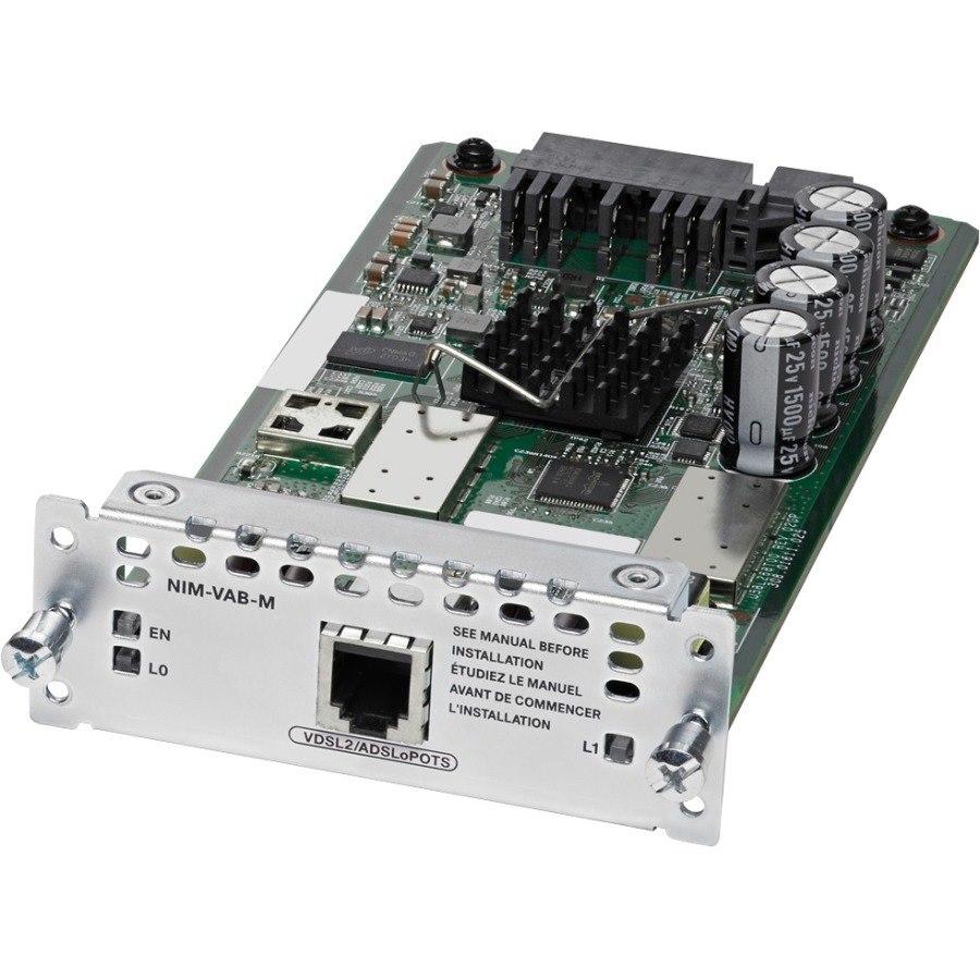 Cisco WAN Module - 1 RJ-11 VDSL2 Network WAN