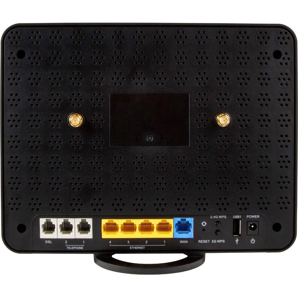 Netcomm IEEE 802.11ac Ethernet, Cellular, ADSL, VDSL Modem/Wireless Router