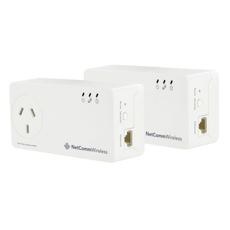 Netcomm NP511 Powerline Network Adapter - 2