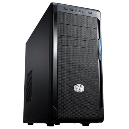 Cooler Master N300 Computer Case - ATX, µATX Motherboard Supported - Mid-tower - Polymer - Midnight Black - 5.20 kg