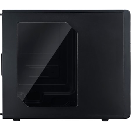 Cooler Master N300 Computer Case - Micro ATX, ATX Motherboard Supported - Polyester, Mesh - Black - 5.20 kg