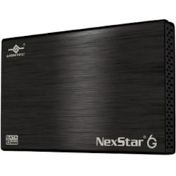 Vantec NexStar 6G NST-266S3-BK Drive Enclosure - USB 3.0 Host Interface External - Black