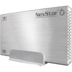 Vantec NexStar 6G NST-366S3-SV Drive Enclosure - USB 3.0 Host Interface External - Silver