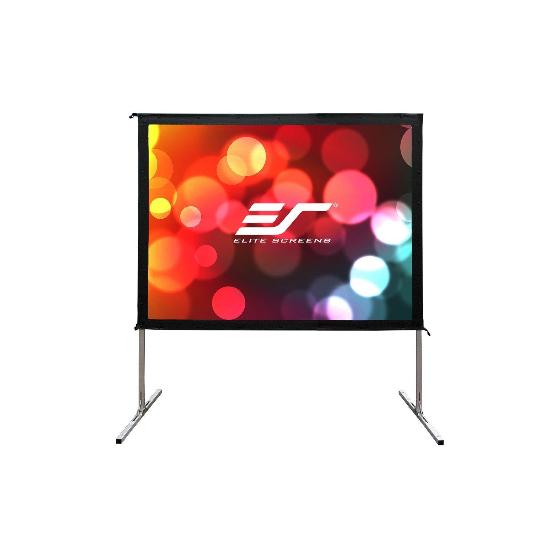 "Elite Screens Yard Master 2 OMS110H2 Projection Screen - 279.4 cm (110"") - 16:9 - Floor Mount"