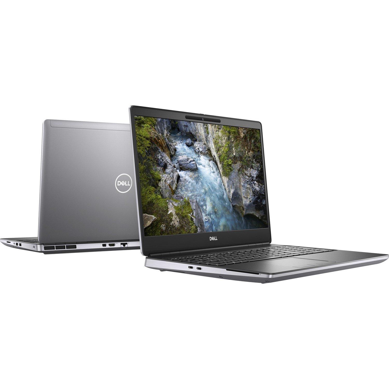 """Dell Precision 7000 7550 39.6 cm (15.6"""") Mobile Workstation - Full HD - 1920 x 1080 - Intel Xeon W-10855M Hexa-core (6 Core) 2.80 GHz - 32 GB RAM - 1.50 TB SSD - Aluminum Titan Gray"""
