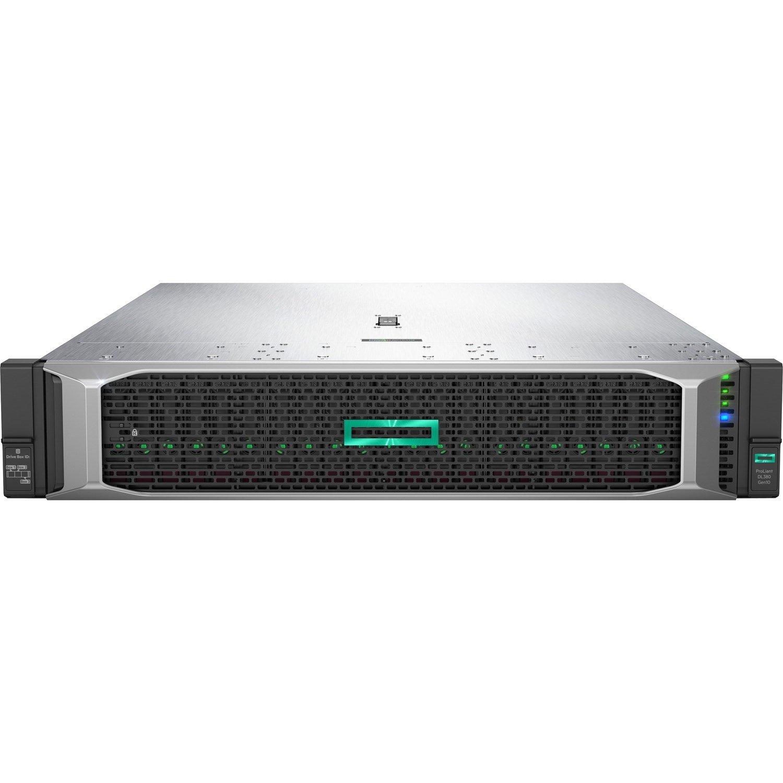HPE ProLiant DL380 G10 2U Rack Server - 1 x Xeon Silver 4210 - 32 GB RAM HDD SSD - 12Gb/s SAS Controller