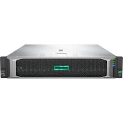 HPE ProLiant DL380 G10 2U Rack Server - 1 x Xeon Silver 4208 - 32 GB RAM HDD SSD - 12Gb/s SAS Controller