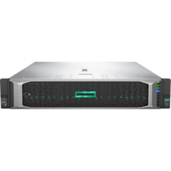 HPE ProLiant DL380 G10 2U Rack Server - 1 x Xeon Silver 4214 - 16 GB RAM HDD SSD - 12Gb/s SAS Controller
