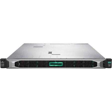HPE ProLiant DL360 G10 1U Rack Server - 1 x Xeon Silver 4208 - 16 GB RAM HDD SSD - 12Gb/s SAS Controller