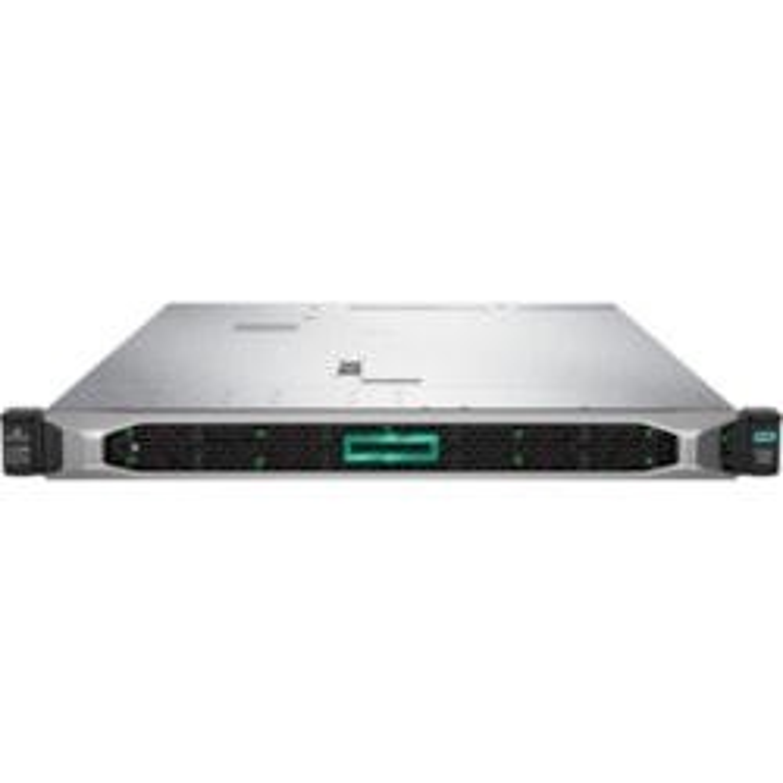HPE ProLiant DL360 G10 1U Rack Server - 1 x Xeon Silver 4214 - 16 GB RAM HDD SSD - 12Gb/s SAS Controller