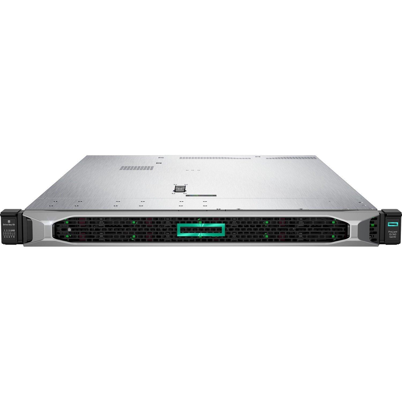 HPE ProLiant DL360 G10 1U Rack Server - 1 x Xeon Silver 4208 - 16 GB RAM HDD SSD - Serial ATA Controller