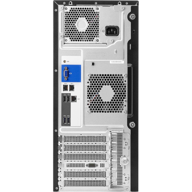 HPE ProLiant ML110 G10 4.5U Tower Server - 1 x Intel Xeon Silver 4108 Octa-core (8 Core) 1.80 GHz - 16 GB Installed DDR4 SDRAM - Serial ATA/600 Controller - 1 x 550 W