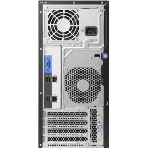 HPE ProLiant ML30 G9 4U Tower Server - 1 x Intel Xeon E3-1220 v6 Quad-core (4 Core) 3 GHz - 8 GB Installed DDR4 SDRAM - Serial ATA/600 Controller - 0, 1, 5, 10 RAID Levels - 1 x 350 W