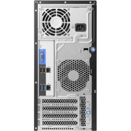 HPE ProLiant ML30 G9 4U Tower Server - 1 x Intel Xeon E3-1220 v6 Quad-core (4 Core) 3 GHz - 8 GB Installed DDR4 SDRAM - Serial ATA/600 Controller - 0, 1, 5, 10 RAID Levels - 1 x 350 W