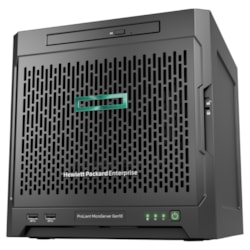 HPE ProLiant MicroServer Gen10 Ultra Micro Tower Server - 1 x AMD Opteron X3421 Quad-core (4 Core) 2.10 GHz - 8 GB Installed DDR4 SDRAM - ClearOS - Serial ATA/600 Controller - 0, 1, 10 RAID Levels - 1 x 200 W