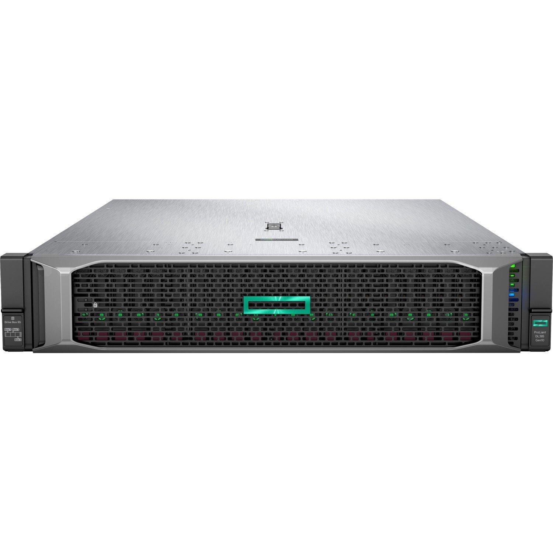 HPE ProLiant DL385 G10 2U Rack Server - 1 x AMD EPYC 7251 Octa-core (8 Core) 2.10 GHz - 16 GB Installed DDR4 SDRAM - 12Gb/s SAS Controller - 2 x 500 W