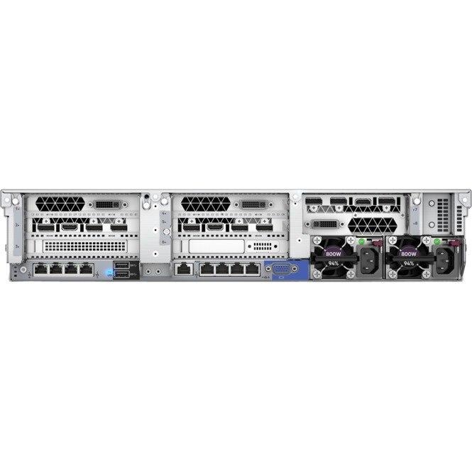 HPE ProLiant DL380 G10 2U Rack Server - 1 x Intel Xeon Silver 4110 Octa-core (8 Core) 2.10 GHz - 16 GB Installed DDR4 SDRAM - Serial ATA/600, 12Gb/s SAS Controller - 1 x 500 W