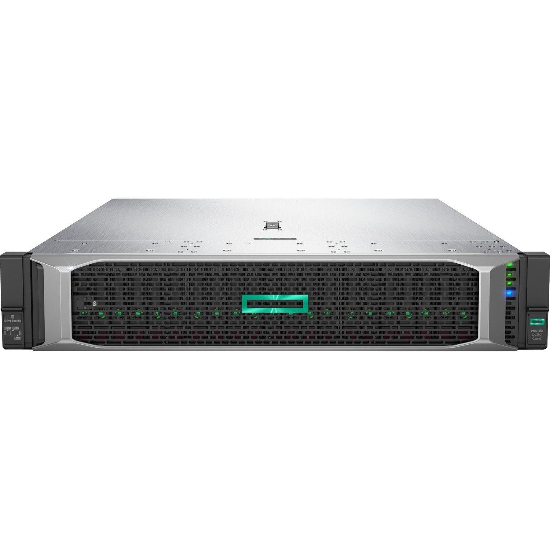 HPE ProLiant DL380 G10 2U Rack Server - 1 x Intel Xeon Silver 4114 Deca-core (10 Core) 2.20 GHz - 32 GB Installed DDR4 SDRAM - 12Gb/s SAS, Serial ATA/600 Controller - 1 x 800 W