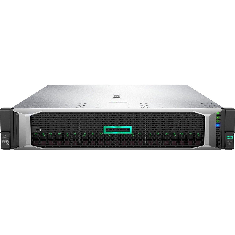 HPE ProLiant DL380 G10 2U Rack Server - 1 x Intel Xeon Gold 6130 Hexadeca-core (16 Core) 2.10 GHz - 64 GB Installed DDR4 SDRAM - 12Gb/s SAS, Serial ATA/600 Controller - 2 x 800 W