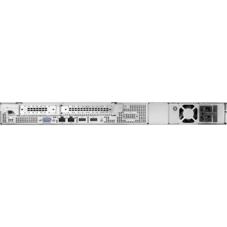 HPE ProLiant DL20 G10 1U Rack Server - 1 x Xeon E-2124 - 16 GB RAM HDD SSD - Serial ATA/600 Controller