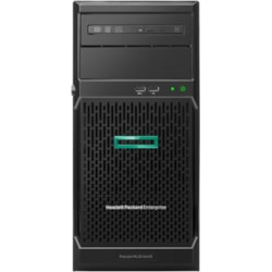 HPE ProLiant ML30 G10 4U Tower Server - 1 x Xeon E-2124 - 8 GB RAM HDD SSD - Serial ATA/600 Controller