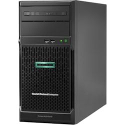 HPE ProLiant ML30 G10 4U Tower Server - 1 x Xeon E-2134 - 16 GB RAM HDD SSD - Serial ATA/600 Controller