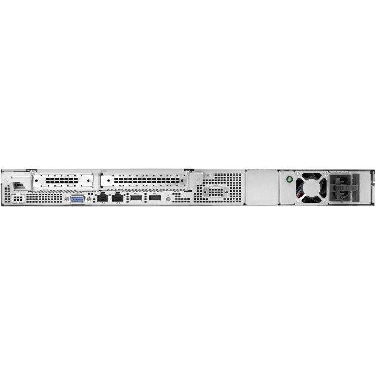 HPE ProLiant DL20 G10 1U Rack Server - 1 x Xeon E-2124 - 8 GB RAM HDD SSD - Serial ATA/600 Controller