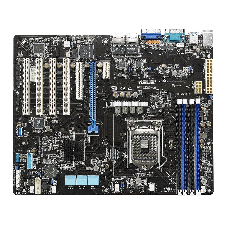 Asus P10S-X Server Motherboard - Intel Chipset - Socket H4 LGA-1151